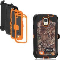 OtterBox Galaxy S4 Defender Camo RealTree Blaze/Xtra Ornge