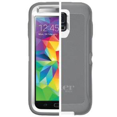 OtterBox Galaxy S5/S5 Neo Defender Glacier White/Grey