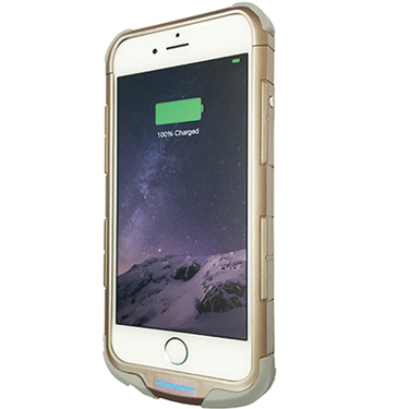 iWalk Chameleon iPhone 6/6S Powercase w/2400mah Gold