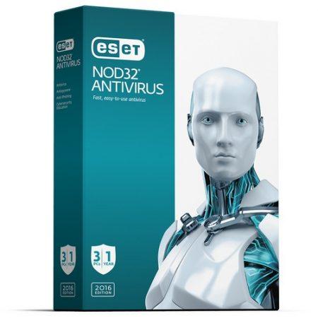 Eset Nod32 Antivirus V9 1Yr 3-User BIL