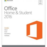 Microsoft Office 2016 Home & Student Mac English