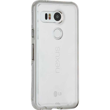 Case-Mate LG Nexus 5X Tough Case Clear w/Clear bumper