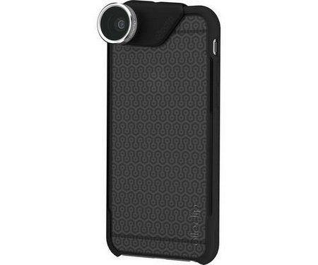 Olloclip iPhone 6/6S/6+/6S+ 4-in-1 Lens w/Red/BlkCase