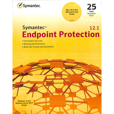 Symantec Endpoint Protection 12.1 25-User Business Pack