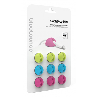 BlueLounge Cable Drop Mini Bright (6-Pack)