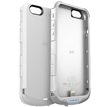 iWalk Chameleon iPhone 6/6S Powercase w/2400mah White