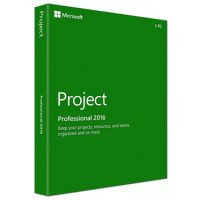 Microsoft Project 2016 Pro Medialess PKC