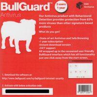 Bullguard Antivirus 1Yr 3-User Keycard