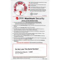 Trend Micro Maximum Security v10 OEM 3-User Medialess PKC