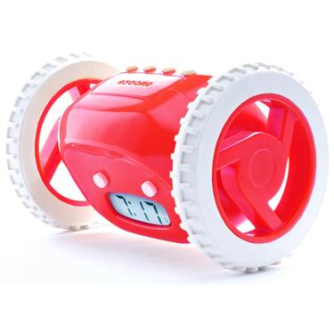 Clocky Moving Alarm Clock Red