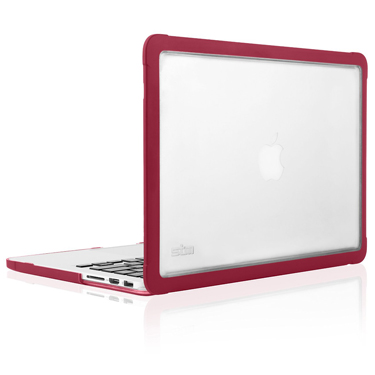 STM Dux Shell MacBook Pro Retina 15in Chili