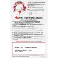 Trend Micro Maximum Security v10 OEM 3-User Medialess PKC