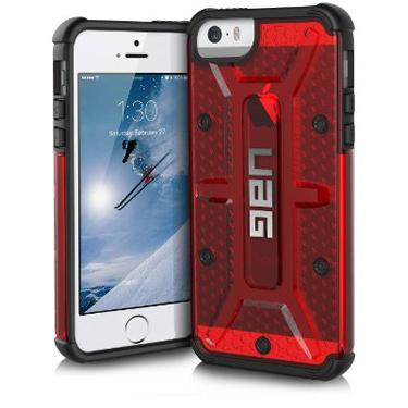 UAG iPhone 5/5S/SE Red Magma/Black