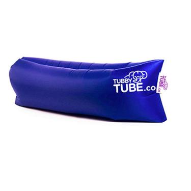 TubbyTube Inflatable Air Tube 3 Pockets Dark Blue