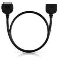 RadTech ProCable 30 Pin Charge & 3.5mm Audio Line Out Black