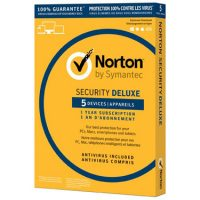 Norton Security Deluxe 5-User 1-Year PKC BIL