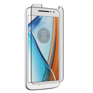 Nitro Moto G4 Tempered Glass Protector Clear