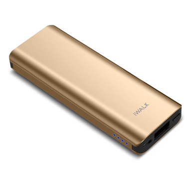 iWalk Chic 3000mah Battery Metallic Ultra-Slim Gold