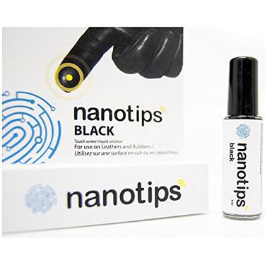 Nanotips Touchscreen Liquid for Leather & Rubber Gloves