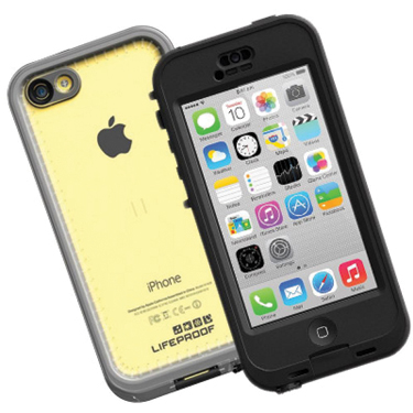 Lifeproof iPhone 5C Nuud Black/Clear