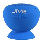Lyrix Jive Water Resistant Wireless Speaker Blue
