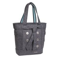 Ogio Women Tote Hamptons 15in Light Gray Felt