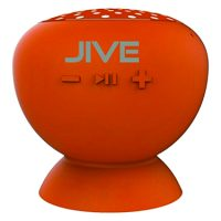 Lyrix Jive Water Resistant Wireless Speaker Orange