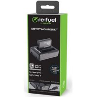 ReFuel GoPro Hero 4 Two Slot USB Travel Charger & Batt Kit