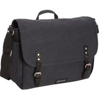 Kenneth Cole Reaction Laptop Messenger Canvas 15in Navy