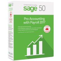 Sage 50 Pro Accounting 2017 w/Payroll (1-User) BIL