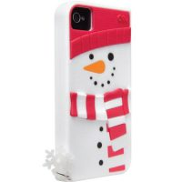 Case-Mate iPhone 4/4S Creatures White Snowman