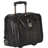 Kenneth Cole Reaction Wheeled Portfolio Case 15.4in Black