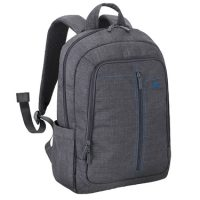 RivaCase Laptop Canvas Backpack 15.6in 7560 Ch Grey