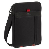 RivaCase Tablet Sleeve 7in w/ Shoulder Strap 5107 Black