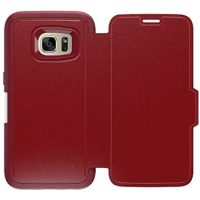 OtterBox Galaxy S7 Strada Folio Leather Red/Red Ruby Rom