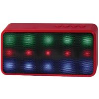 Lyrix Prysm Bluetooth LED 3W Speaker Red