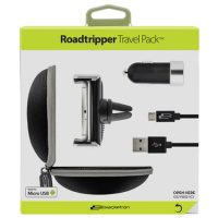 Bracketron Roadtripper Vent Mount/Car Charger w/Micro cabl
