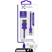 Colour Blast Charge & Sync Lightning Cable 3ft MFI Purple
