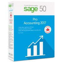 Sage 50 Pro Accounting 2017 1-User BIL