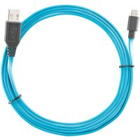 Ventev Charge & Sync Lightning Cable 6ft Blue MFI
