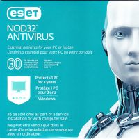 Eset Nod32 Antivirus OEM V10 1-User 3-Year Sleeve BIL