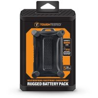 Tough Tested 6000mAh Powerbank Rugged Water Resistant IP65