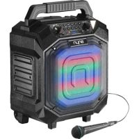 Nyne Performer Plus BT 70W Party Speaker Blk w/Mic & LED