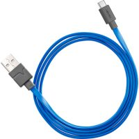 Ventev Charge & Sync USB-A to USB-C 2.0 Cable 3ft Blue