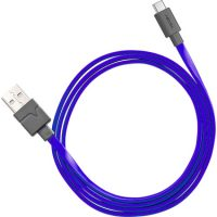 Ventev Charge & Sync USB-A to USB-C 2.0 Cable 3ft Purple