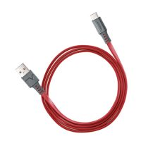 Ventev Charge & Sync USB-A to USB-C 2.0 Cable 3ft Red