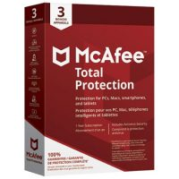 Mcafee Total Protection 3-Device 1Yr