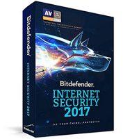 Bitdefender Internet Security 2017 3-User 2Yr BIL