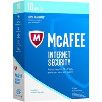 Mcafee Internet Security 10-Devices 1Yr