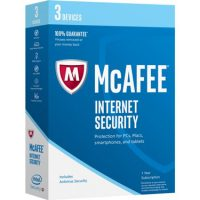 Mcafee Internet Security 3-Device 1Yr